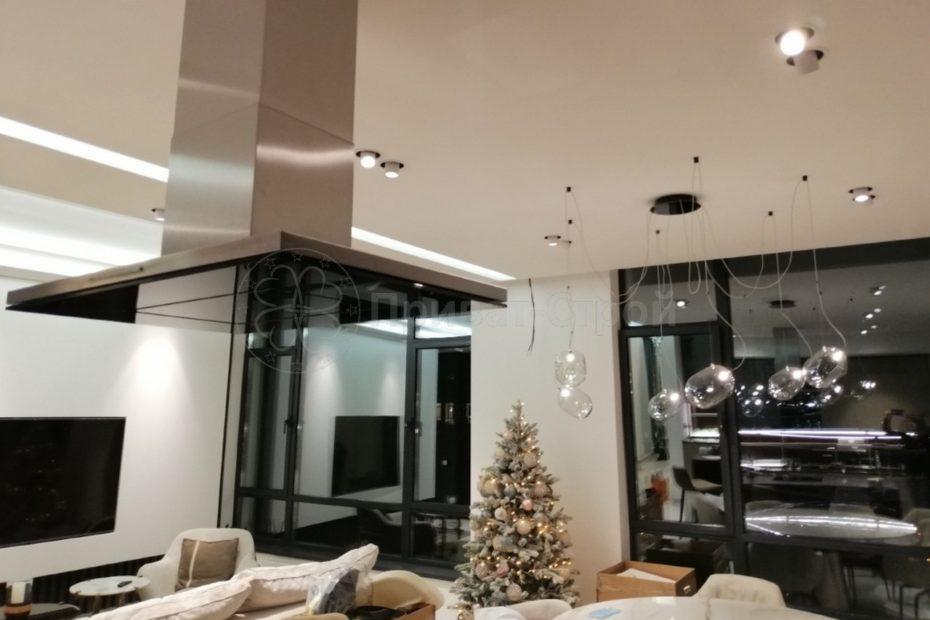 Ремонт в четырехконатной квартиры в ЖК Парк Авеню